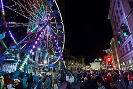 First Night Ferris Wheel, Raleigh, North Carolina