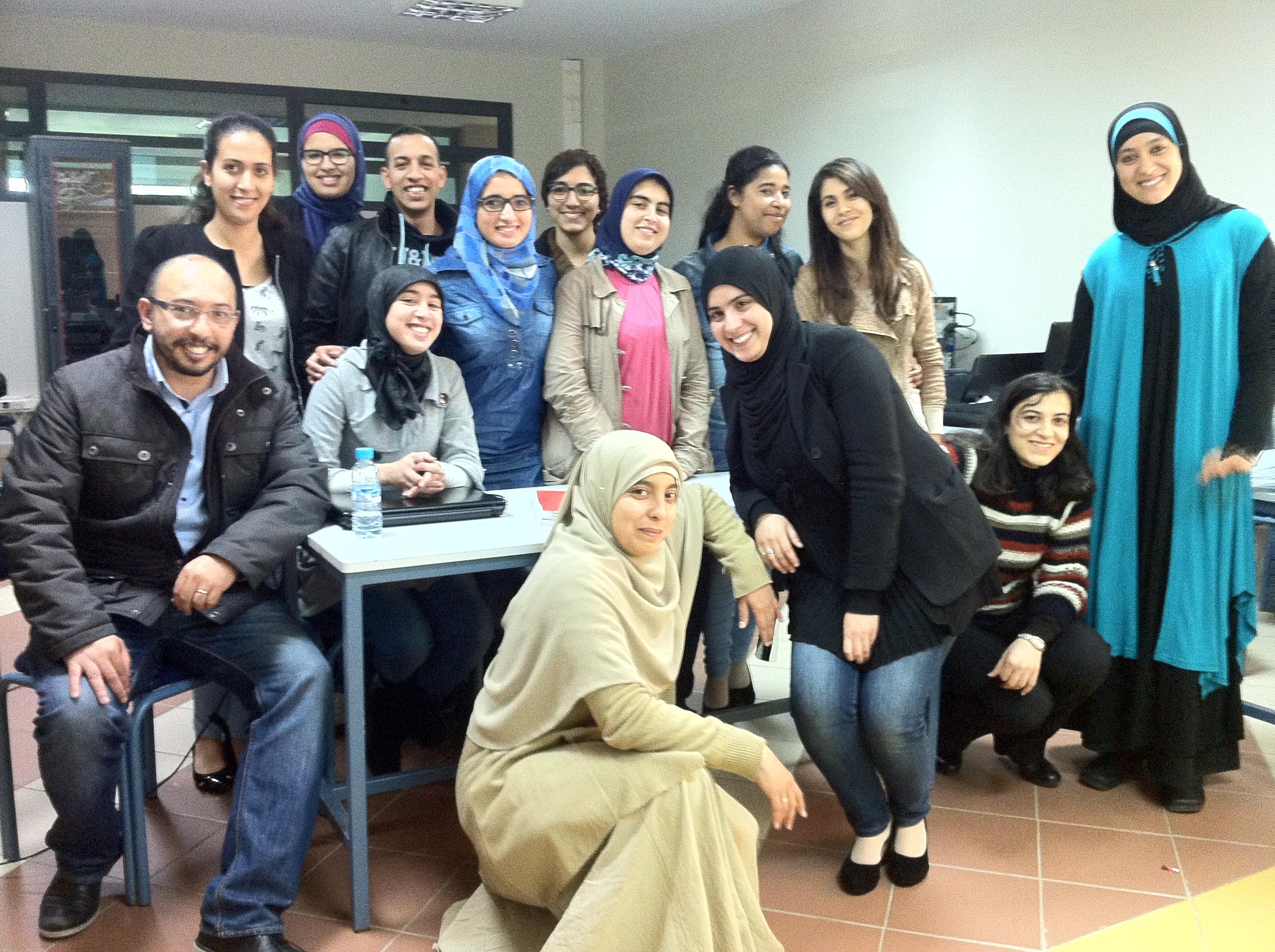 Casablanca team – Mundiapolis University