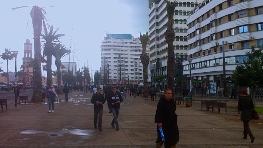 The team arrives in Casablanca.