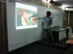 Ashoka presenting at the Digital Media Academy, World Urban Forum