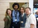 Kirstin, Ashoka, Dave and Sven. The team!
