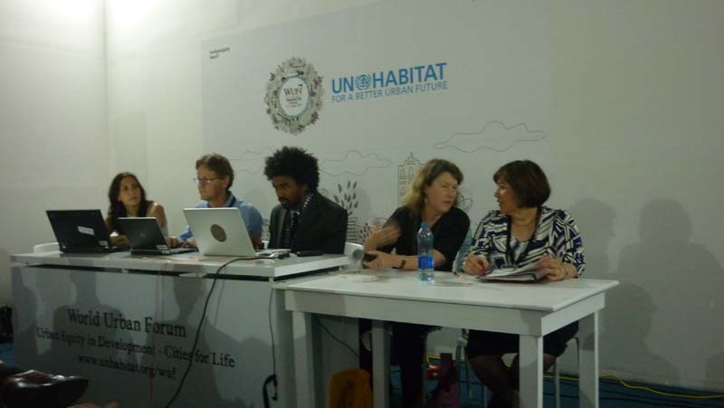 EcoCitizen project presented at the World Urban Forum