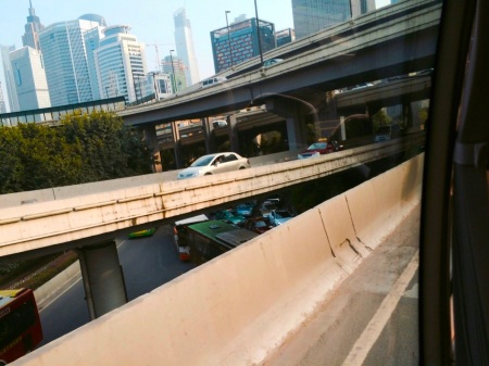 Guangzhou road layering